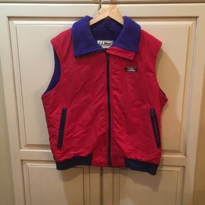 Vintage 80s 90s LL Bean vest jacket L